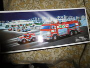 New In Box 2005 Hess Toy Truck Emergency Truck With Rescue Vehicle
