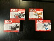 New Meccano Erector 4 Different Model Race Car Helicopter Car And Biplane