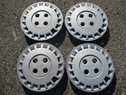 Genuine 1986 To 1989 Nissan Stanza 14 Inch Hubcaps Wheel Covers Set