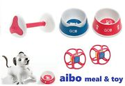 Sony Aibo Accessories Meal/water Bowl + Aibone + Dice Mealandtoy Set Ai Dog Robbot