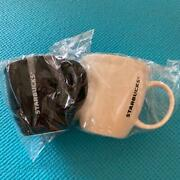 Starbucks Limited Pair Mug Cup Black And White Set From Japan Free Shipping