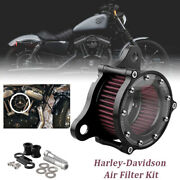 For Harley Davidson Sportster Xl 883 Xl1200 48 Motorcycle Air Filter Air Cleaner