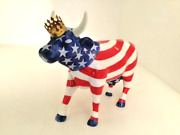 Westland Cow Parade American Royal 9189 Medium And Retired 2001 7x4