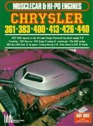 Chrysler Dodge Plymouth 361 383 400 413 426 440 Wedge Ramcharger Muscle Engine