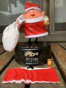 Torys Uncle Santa Desk Alarm Clock Limited Rare From Japan Free Shipping