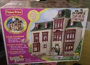 New Fisher Price Loving Family Sweet Traditions Home For The Holidays Dollhouse