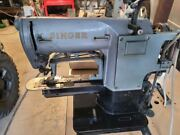 Singer Bar Tacker Industrial Sewing Machine Complete With Table And Electronics
