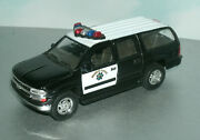 1/46 O Scale 2000 Chevy Suburban Ppv Chp Police Suv Diecast Model - Welly 42312
