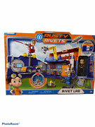 Rusty Rivets - Rivet Lab Playset Exclusive Toys Nickelodeon Brand. New