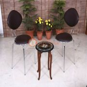 15 Marble Black Coffee Table Top Carnelian Marquetry Floral Art Christmas Gifts