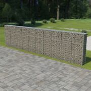 Gabion Wall With Covers Galvanized Steel 236x11.8x59