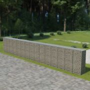Gabion Wall With Covers Galvanized Steel 354x19.7x59
