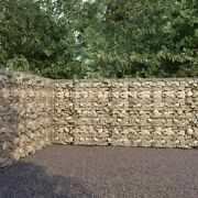Gabion Wall With Covers Galvanised Steel 236.2x11.8x78.7