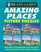 Amazing Places Picture Puzzles Brain Games Unnumbered By Fort, Holli Book