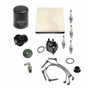 🔥tune Up Kit Cap Rotor Wires Spark Plug Filter For For Honda Civic🔥