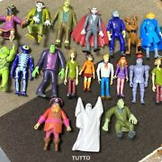 Lots Scooby-doo Wolfman Haunted Dracula Phantom Shaggy Dog Monsters 5and039and039 Figure