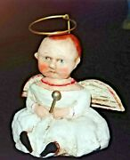 Limited Edition Baby Christmas Angel By Debbee Thibault 2006 Hight 4