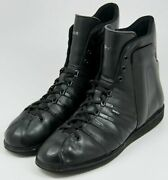 Kunzli Black Leather Super Ankle Support Menand039s Boots Sz 13