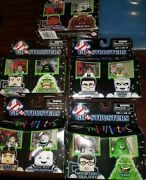 Ghostbusters Minimates 2009 Set Of 5 25th Anniversary Sealed Stay Puff Marshmell