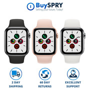 Apple Watch Series 5 40mm 44mm Smart Watch ⌚ Wifi And Cellular For Women And Men