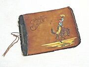 Western Usa Photo Picture Album Rodeo Horse Trick Riding Cars Town Estes Col.