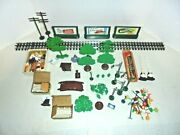 Plasticville And Lionel Platform Pieces For Your Train Layout Signs,lights More