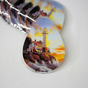 Ok Lighting Touch Lamp Lighthouse Themed Replacement Glass Panels 6