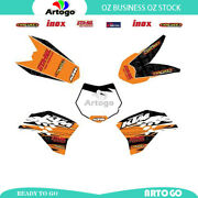 Motorcycle Sticker Decal Kit Graphics Kit For Ktm 50 Sx 2009-2011 2012 2013