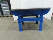 1-3/8 Webbed Cast Iron Lay Out/jig/welding/work Table Bench 48-3/8x30-1/4x36