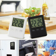 Magnetic Digital Lcd Cooking Timers Clock Alarm 1ag10 Button Cell Practical