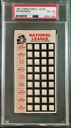 1967 Topps Punch-outs Joe Morgan Psa 4 Houston Astros Test Issue