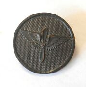Ww1 Us Air Service Propeller Wings Enlisted Mans Disk Collar Pin French Jewelers