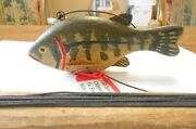 Wood Fish Spearing Decoy Chippewa Native American Circa 1900 Mille Lacs Reservat
