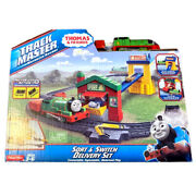 Thomas And Friends Trackmaster Motorized Railway Sort And Switch Delivery Set New