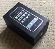 Apple Iphone 2g 1st Generation 8gb A1203 - Ios 1.1.1 Unlocked With Matching Box