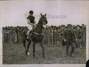 1928 Press Photo H.r.h. The Of Wales In The Paddock At The Hunt Point