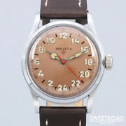 Helbros Brevet Original Copper Dial Vintage Watches 1950s From Japan 20201203