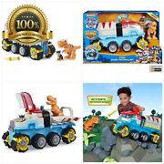 Paw Patrol, Dino Rescue Dino Patroller Motorized Team Vehicle With Exclusive Cha