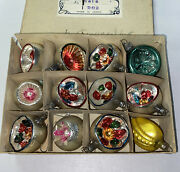 Lot Of 12 Antique Feather Tree Christmas Ornaments 9 Are From Germany