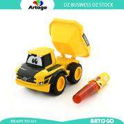 Exclusive Volvo My First Rc Dump Truck With Traffic Wand Remote Baby 24m + Toy
