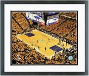 Indiana Pacers Bankers Life Fieldhouse Nba Photo Size 12.5 X 15.5 Framed