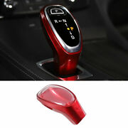 Fit For Buick Lacrosse 2016-2019 Red Abs Console Gear Shift Knob Cover Trim 1pcs