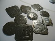 9 Vintage / Antique Williams Bros Direct Store / Trade Tokens Uk