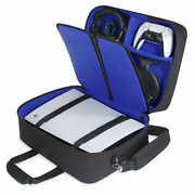 Usa Gear Ps5 Case - Console Case Compatible With Ps5 And Ps5 Digital Edition