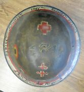 Ww1 Us Air Service Aef 474th Aero Squadron All Over Painted Brodie Helmet Liner