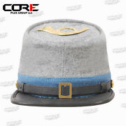 American Civil War Confederate Infantry Style Kepi With Badge All Sizes