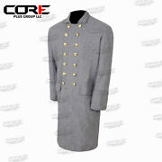 Civil War Confederate Double Breast Frock Coat All Sizes Available