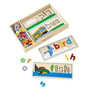 Melissa Andamp Doug See And Spell Puzzle Board
