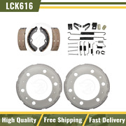 For 2012 Isuzu Reach Rear Brake Drums And Shoes Hardware Spring Kit - Raybestos