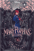 Mary Poppins Returns Movie Poster Original Jack Hughes Sold Out Mondo /185